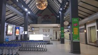 Зал получения багажа в аэропорту Сиемреап