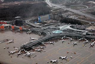 Терминал D аэропорта Москва Шереметьево