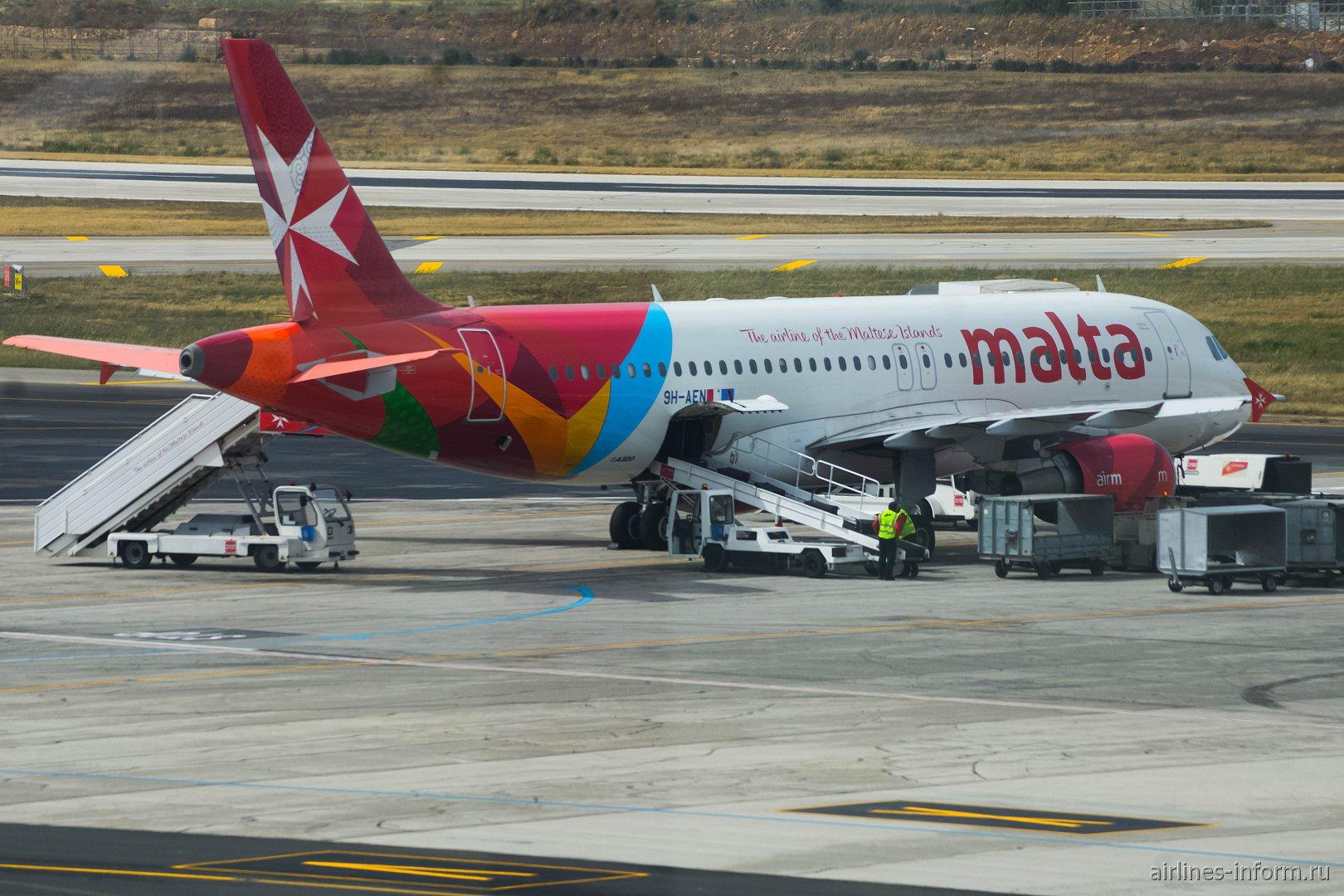 Airbus A320 ������������ Air Malta � ��������� ������