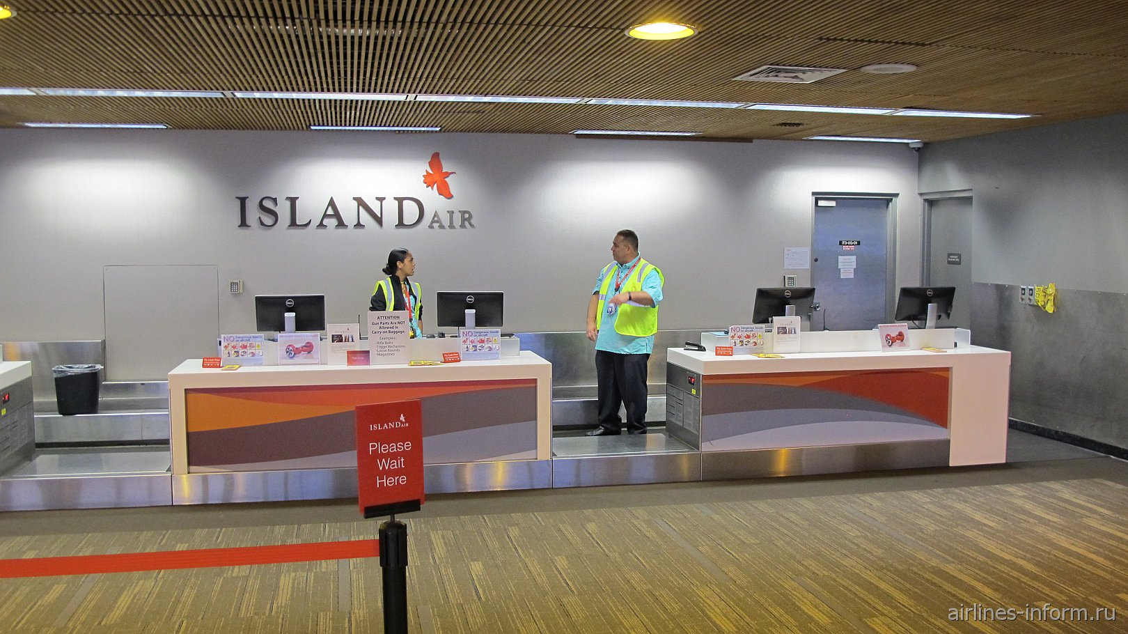 ������ ����������� ������������ Island Air � ��������� ��������
