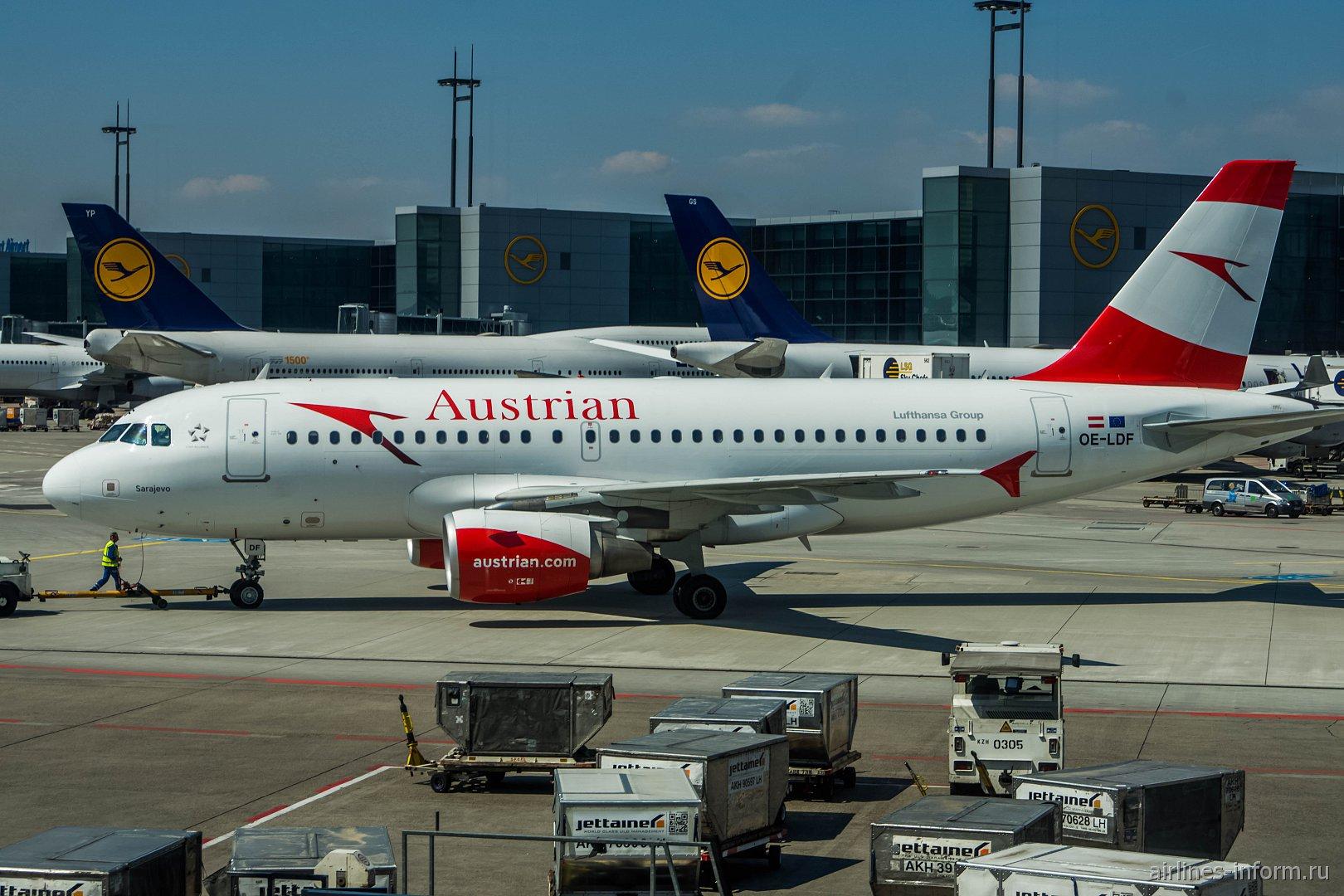 Airbus A319 ������������ Austrian � ��������� ����������