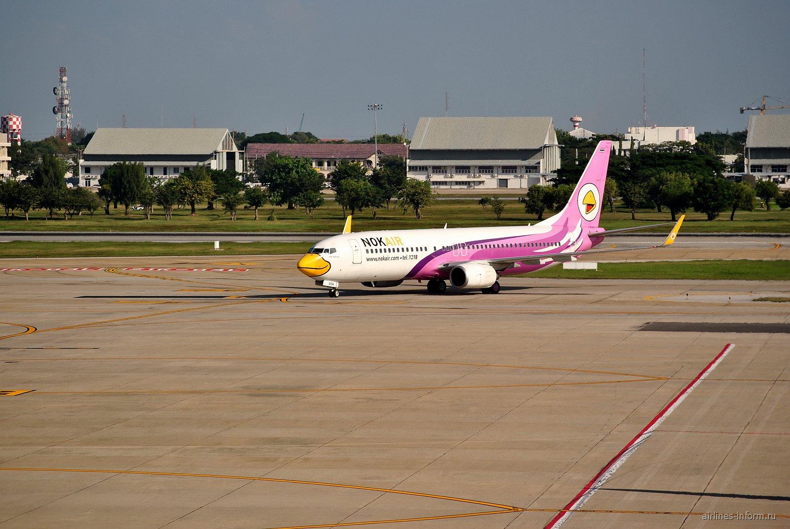 �����-737-800 ������������ Nok Air � ��������� ������� ��� �����