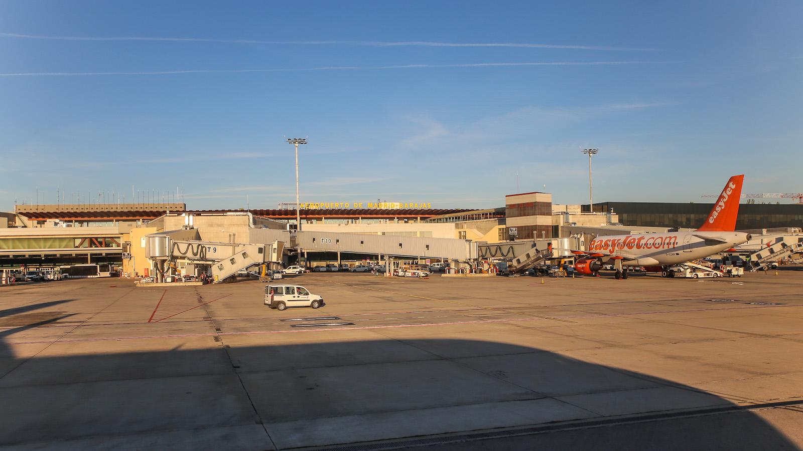 Терминал 1 аэропорта Барахас в Мадриде