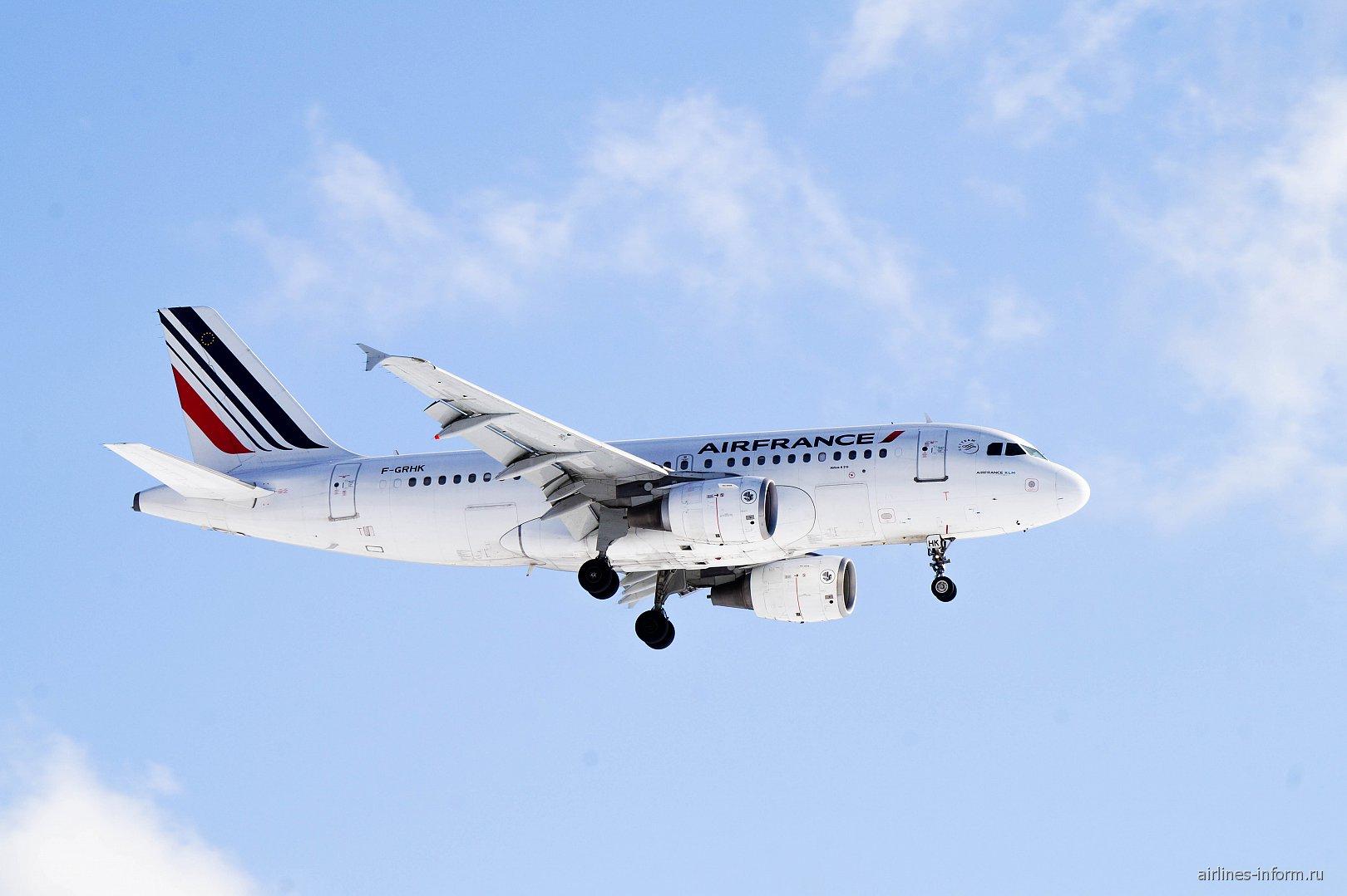 ������� Airbus A319 F-GRHK ������������ Air France