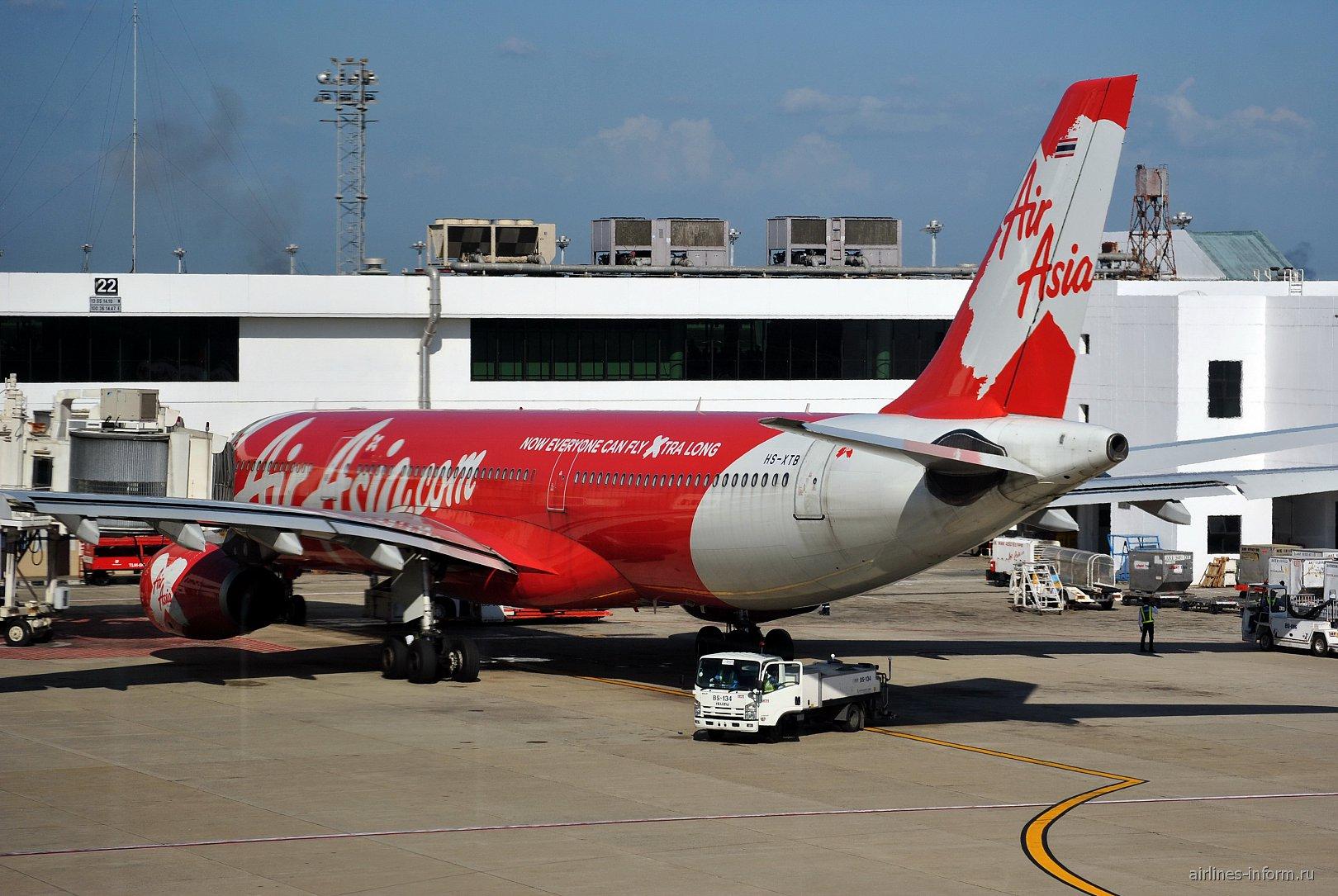 Airbus A330-300 ������������ AirAsia X � ��������� ������� ��� �����