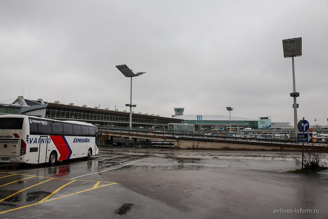 схема аэропорта автобусов хельсинки вантаа