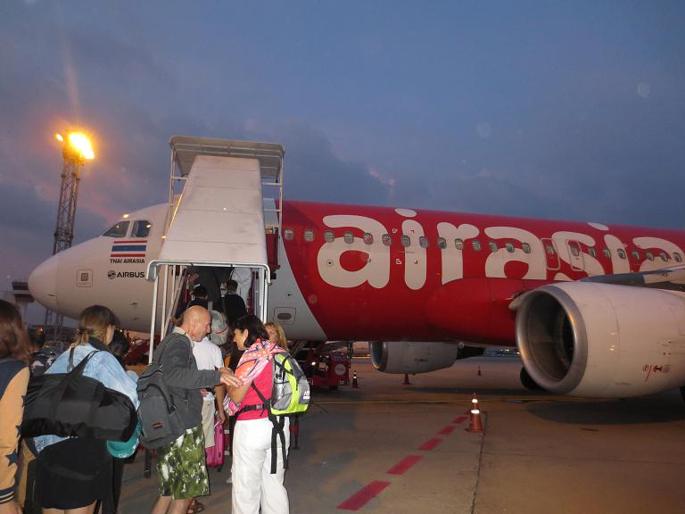 Бангкок-Краби с Аир Азия