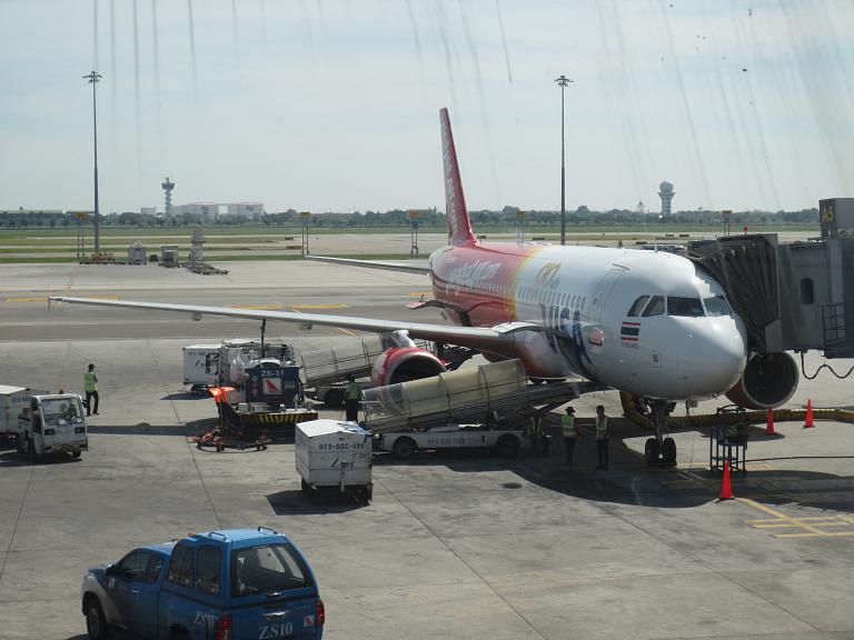 Бангкок-Пхукет Thai Vietjet Air краткий отчёт