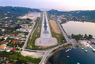 Взлетно-посадочная полоса аэропорта Скиатос
