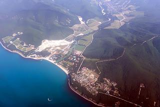The Black Sea village of Krinitsa near Gelendzhik