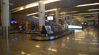 Зал выдачи багажа в терминале Д аэропорта Шереметьево