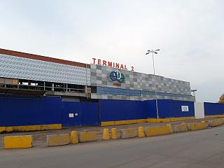 The construction of the new terminal 2 at the airport of Ufa