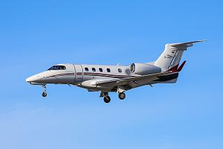 Embraer Phenom 300 reg. D-CBBS in the sky