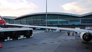 Пассажирский терминал аэропорта Стамбул Сабиха Гёкчен