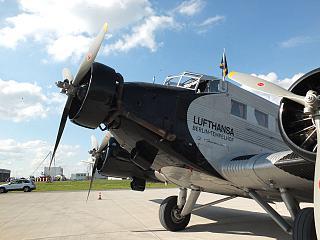 Plane Junkers Ju-52 Lufthansa