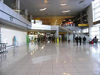 The total area of the terminal B international airlines airport Ekaterinburg Koltsovo