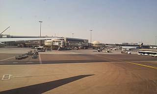 Gates of terminal 3 of Abu Dhabi airport