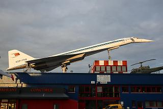 The Tu-144 in the Museum of technology in Sinsheim