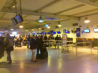 Reception at the airport Paris Beauvais-Tille