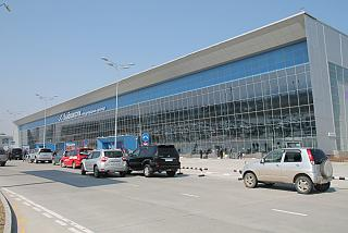 The passenger terminal of Vladivostok airport Knevichi