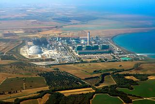 The power plant near Brindisi