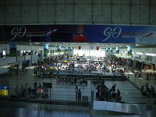 Baggage claim in terminal 2 Antalya airport
