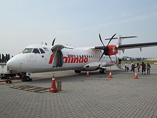 ATR 72 авиакомпании Malindo Air в аэропорту Субанг Султан Абдул Азиз Шах