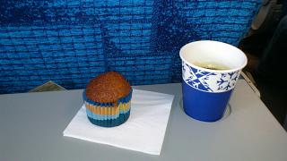 Питание на рейсе Таллинн-Москва авиакомпании Estonian Air