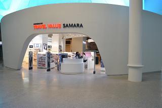 Магазин в чистой зоне аэропорта Самара Курумоч