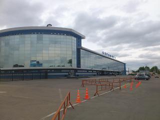Терминал внутрироссийских рейсов аэропорта Иркутск