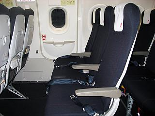 Seats in Airbus A320 Air France
