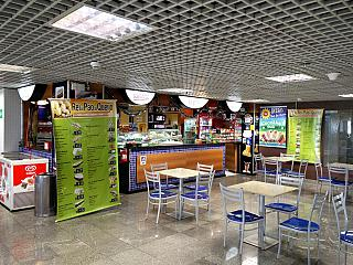 Cafe at the airport of Foz do igua