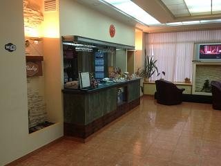 Business hall of the airport Arkhangelsk Talagi