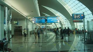 Выходы на посадку в аэропорту Дубай