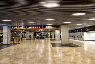 The terminal T2 of Barajas airport