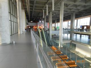 In the terminal building of Dalaman airport