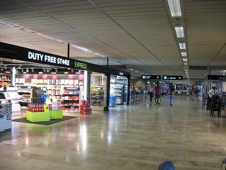 Зона вылетов A в аэропорту Цюрих