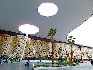 The passenger terminal of the airport of Marrakech Menara
