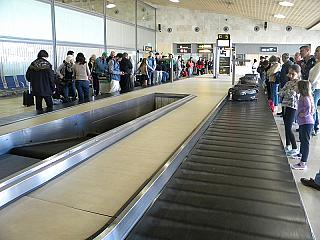 Baggage claim at the airport Tenerife North