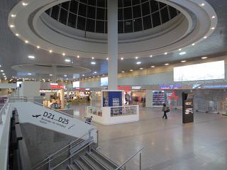 Обновленный пассажирский терминал Пулково-1