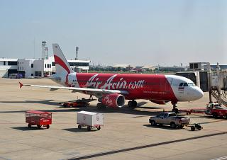 Airbus A320 HS-ABT airlines Thai Air Asia airport don Muang