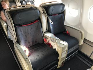 Business class Turkish Airlines Airbus A330-200