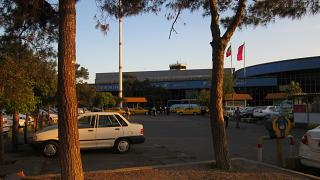 The passenger terminal of the airport of Mehrabad in Tehran