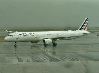 Airbus A321 F-GTAX Air France at Nice Airport