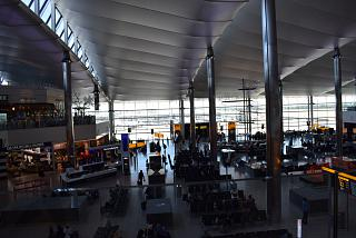 General view of the clean zone of terminal 2 of London Heathrow airport