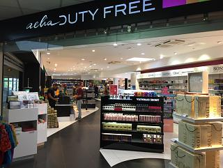 Shop Duty Free at the airport Noumea La Tontouta