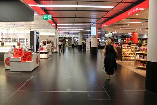 The Duty-Free shops at Vienna airport