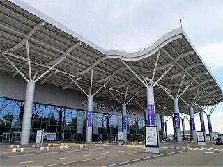 The new passenger terminal of the Odessa airport