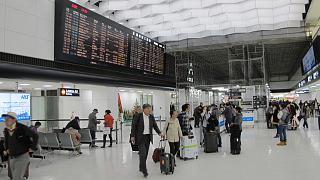 Зал прилета в терминале 2 аэропорта Токио Нарита
