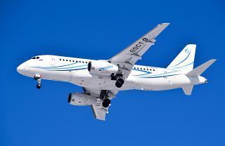 Самолет Суперджет-100 RA-89019 авиакомпании